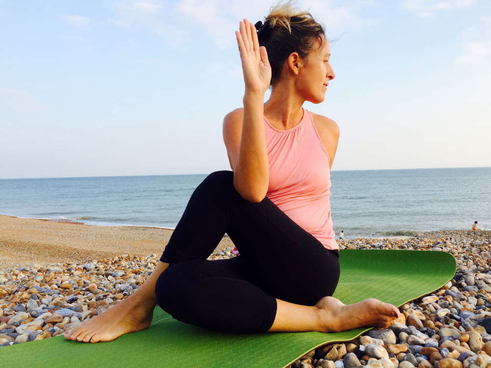 Overcoming Stomach bloating with Yoga