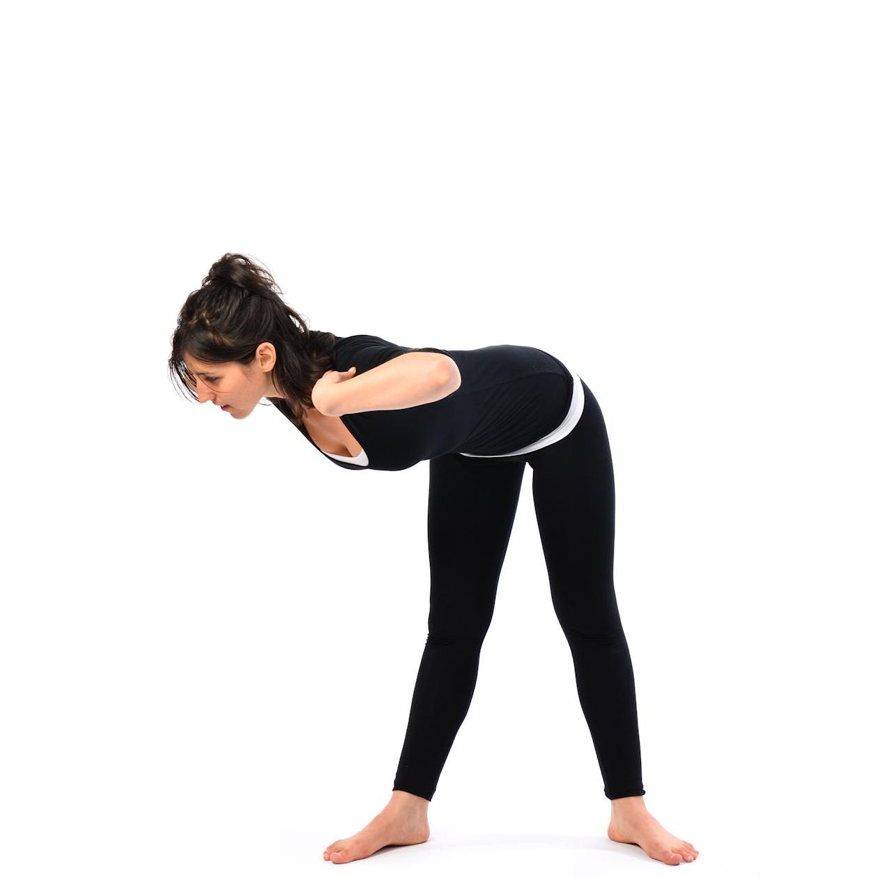 Yoga asanas for motion sickness